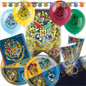Harry-Potter-Birthday-Party-Supplies-Decorations-Balloons-Plates-Cups-Bundle-Set