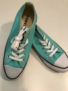 a694d8615a96 NEW Converse Chuck Taylor All Star Low Light Aqua Blue 157643F ...
