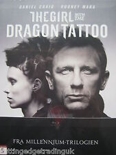 The Girl With The Dragon Tattoo (Blu-ray 2012) NEW SEALED (Nordic Packaging) PAL