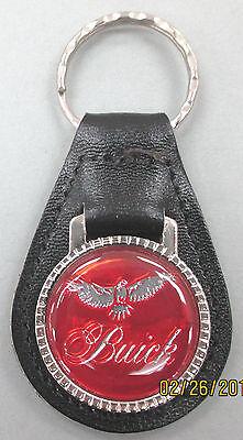 Red Buick RIVIERA Mini Steering Wheel Leather Keyring 1978 1979 1980 1981 1982