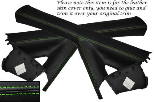 Green stitch 2x un post pilier de la peau recouvre fits MERCEDES VITO W639 2004-2012