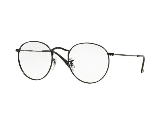 5c9e238053 Ray-ban Rx3447v 2503 50mm Noir Mat Lunettes de Vue | Achetez sur eBay
