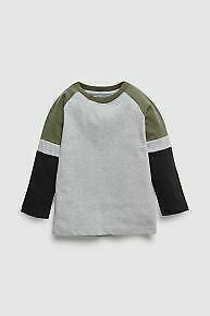 NEW NEXT Baby Boys Long Sleeve Tops 0-3 3-6 6-9 9-12 12-18 months unisex bright