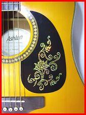 Guitarra Acústica Pickguard/Scratchplate Autoadhesivo Oro Flor DESIGN