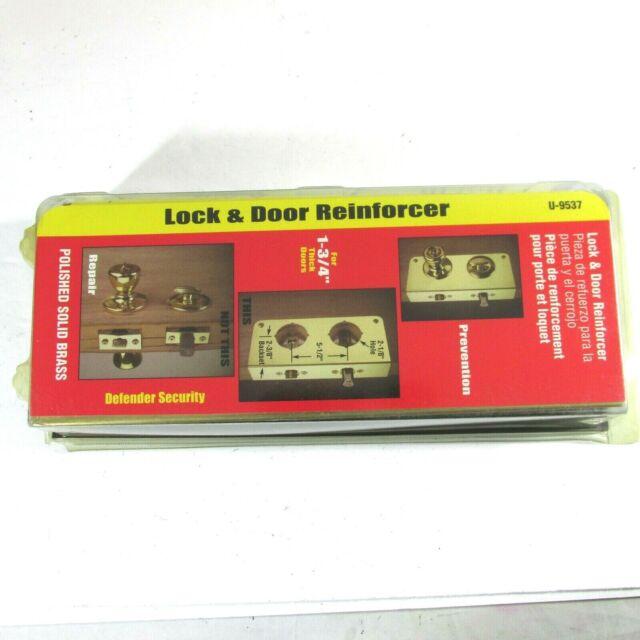 Defender Security Lock and Door Reinforcer polished Solid ...