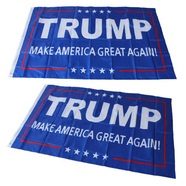 Wholesale Donald J. Trump 3x5 Foot Flag Make America Great Again for PresidentHC