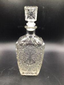 Crystal Whiskey Glass Decanter Stopper Bottle Liquor