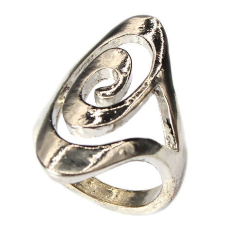 Edelstahl Ring Modeschmuck Silber