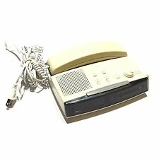 GE Alarm Clock Phone Radio Beige Model 2-9710a