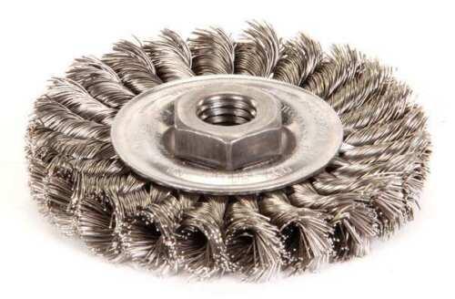 WEILER 93431 Knot Wire Wheel Wire Brush Threaded Arbor