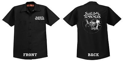 SUICIDAL TENDENCIES Official Suicidal Maniac DICKIES WORKSHIRT Punk DogTown