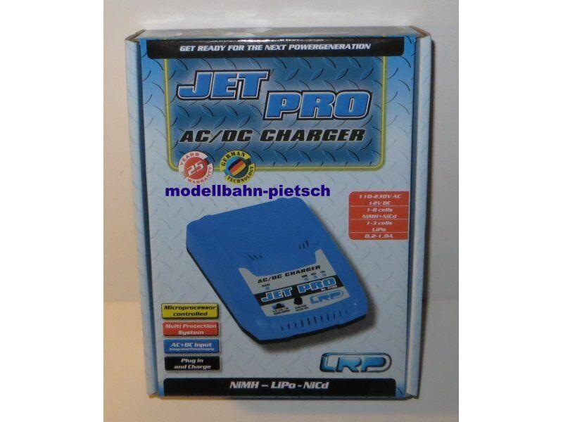 LRP 41180  JET PRO - AC DC 12V 230V Charger für LiPo   NiMH   NiCd , neu, OVP