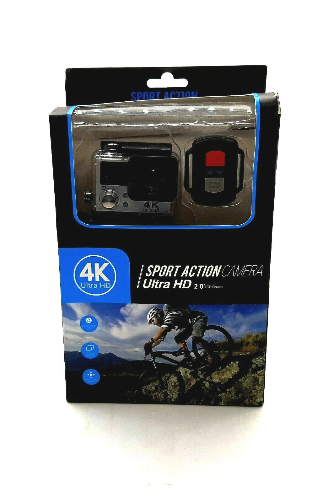 4K Wifi Sports Action Camera,Underwater Camcorder Qipexeii Double Screen Sony Se action camcorder double qipexeii screen sony sports wifi