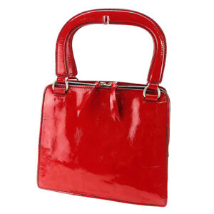 fb12cf4aa19f Image is loading miumiu-Handbag-Red-Woman-unisex-Authentic-Used-E1223