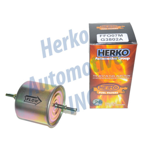 New Herko Fuel Filter FFO07M-G3802A For Ford Licoln Mazda Mercury Merkur 83-07