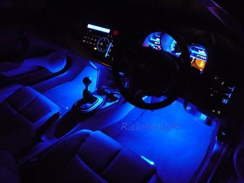Mugen Spoon Honda Civic Type R EP3 FN2 FK2 FK8 Ambeint Footwell LED Lighting Kit