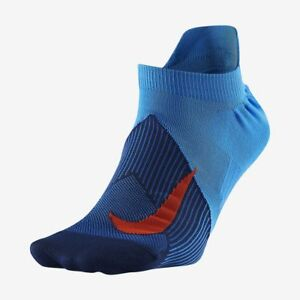 4f4f8591 NIKE ELITE LIGHTWEIGHT NO SHOW Men's Running Socks Style SX6262-403 ...