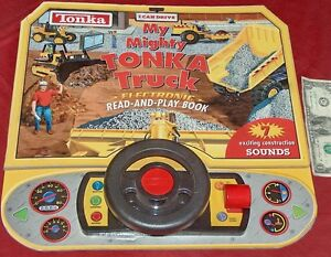 2002 Hasbro Tonka I Can Lecteur Mon Mighty Camion Électronique Sons Lecture & Fabrication Habile