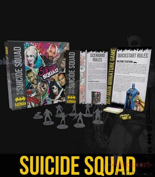 Suicide Squad Batbox  35 mm Batman Miniatures Game by Knight Models