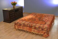 Tages-decke BUDDHA Wandbehang Bettüberwurf Dekotuch Baumwolle Sofaüberwurf India