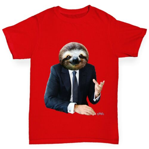 Twisted Envy Girl/'s Mr Sloth Funny Cotton T-Shirt