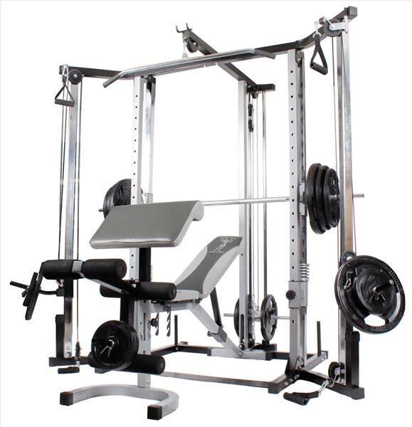 Multistation, Styrketrænings træningsbænk, fitness