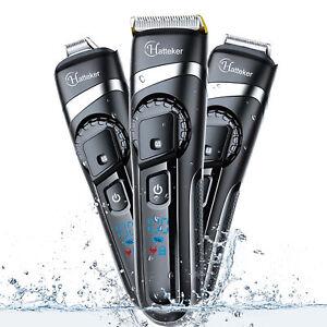 Hatteker Professional Beard Trimmer Men S Hair Trimmer Hair Clipper Grooming Kit 705701751922 Ebay