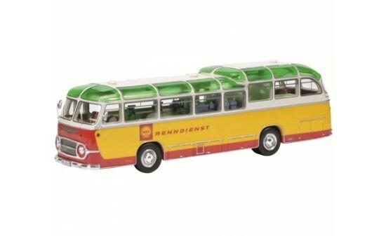 450896500 - Schuco Neoplan  Shell Renndienst  Bus (08965) - 1 43  | Qualität