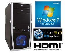 gamer pc intel i7 4790 4x3,6 8GB gtx750ti 2gb 1tb usb3 Windows 7 Prof computer