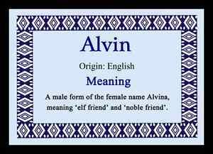 alvina significato