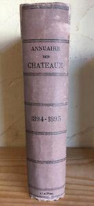 Annuaire-des-chateaux-et-des-departements-1894-1895-8e-annee-Noblesse