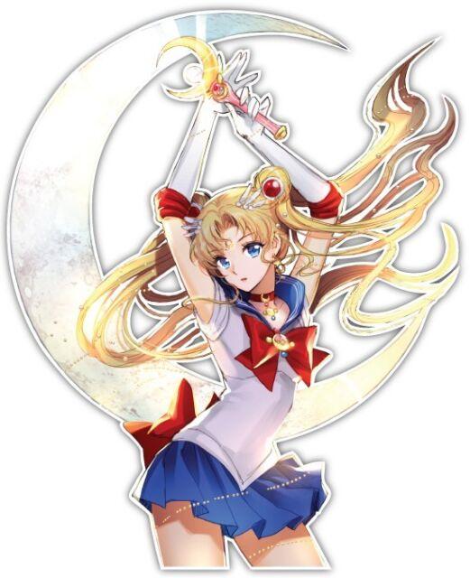 Sailor Moon Usagi Tsukino Anime Car Window JDM Decal Sticker 010