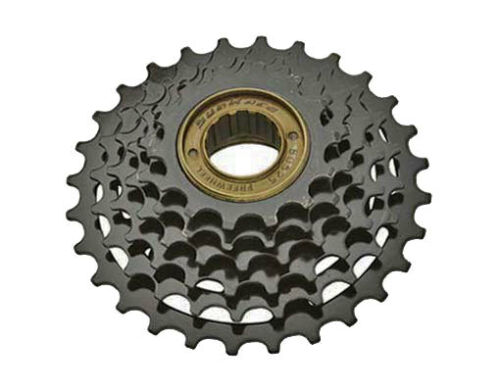 6 Speed Multiple Bike Bicycle Freewheels 14//28t Friction MFM-05 Black Sun Race