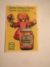 Edeka - Echter Blüten-Honig / Streichholzetikett