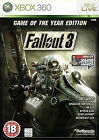 Fallout 3 -- Game of the Year Edition (Microsoft Xbox 360, 2009)