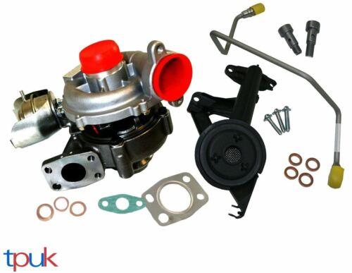 Nouvelle Citroen Turbo Turbocompresseur C3 C4 1.6 HDI 753420 GT1544V et kit de montage