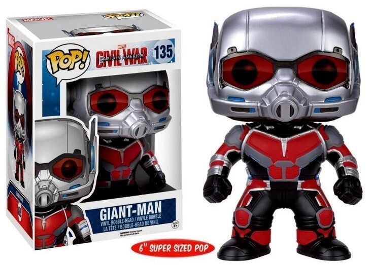 Civil War - Giant Man - Vinyl Figur - Oversized Edition - 6    15 cm - Funko Pop