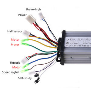 36V-48V-350-W-electric-bicycle-e-bike-Scooter-Brushless-DC-Motor-Controller-New