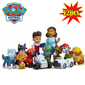 12X-Paw-Patrol-Dog-Puppy-Rescue-Character-Toys-Figure-Figurine-Cake-Decor-Gifts
