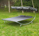Outsunny Double Hammock Sun Lounger
