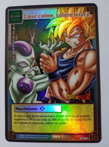 Carte Dragon Ball Z DBZ Cartes à Jouer et à Collectionner #D-467 Holo BANDAI