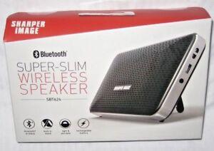 Sharper Image Super Slim Wireless Bluetooth Speaker Super Light
