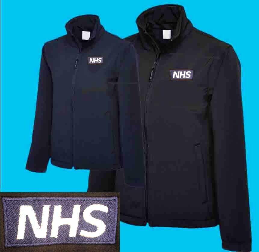 NHS Logo Fleece Quality Regatta or RTX Pro Fleeces - Free Personalisation