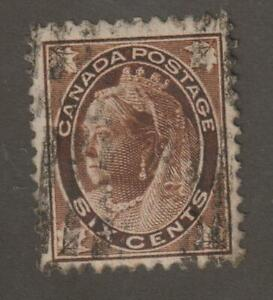 Canada-1898-80-Queen-Victoria-034-Numeral-034-Issue-F-VF-Used