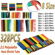 70x 7 Colors 3mm Assorted 2:1 Heat Shrink Tubing Sleeving Wrap Cable 45mm  UA
