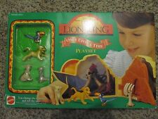 Vintage The Lion King Once Upon A Time Playset Mattel # 66382