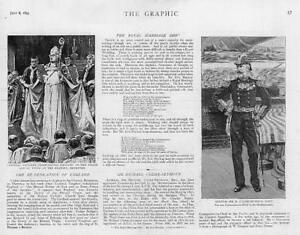 1893-Antique-Print-RELIGION-Cardinal-Vaughan-Brompton-Sir-Culme-Seymour-24