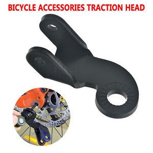 Acero-Remolque-Bicicleta-Acoplador-para-Ciclismo-Angulo-Ellbogen-Burley-Larga