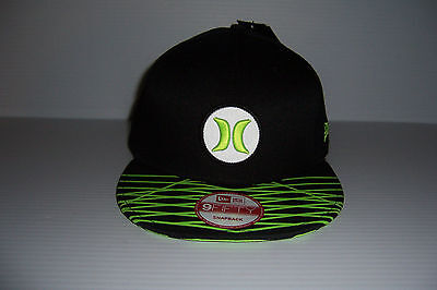 Hurley Major League Snap 9FIFTY Red and Navy Adjustable Snapback Cap Hat OSFM