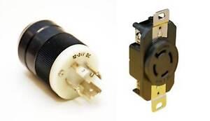 Image Is Loading Marinco Trolling Motor Plug Amp Receptacles Set 12